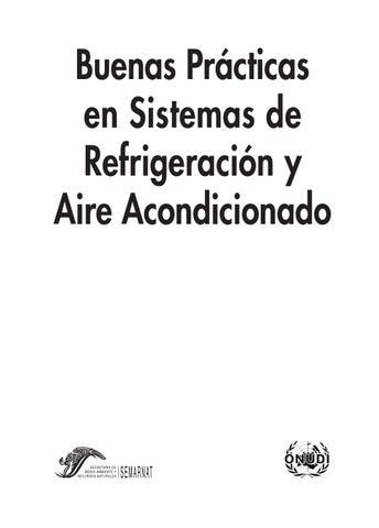 Manual Buenas Practicas En Sistemas De Refrigeracion Y