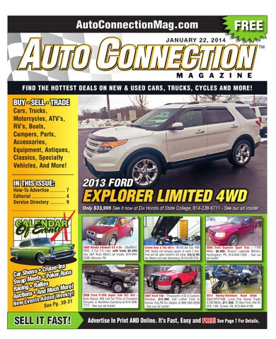 01-22-14 Auto Connection Magazine by Auto Connection