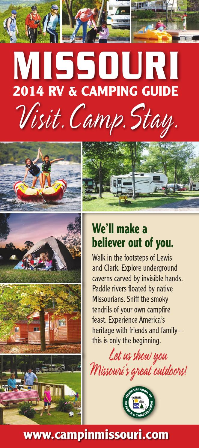 Missouri 2014 Rv Travel Amp Camping Guide By Ags Texas
