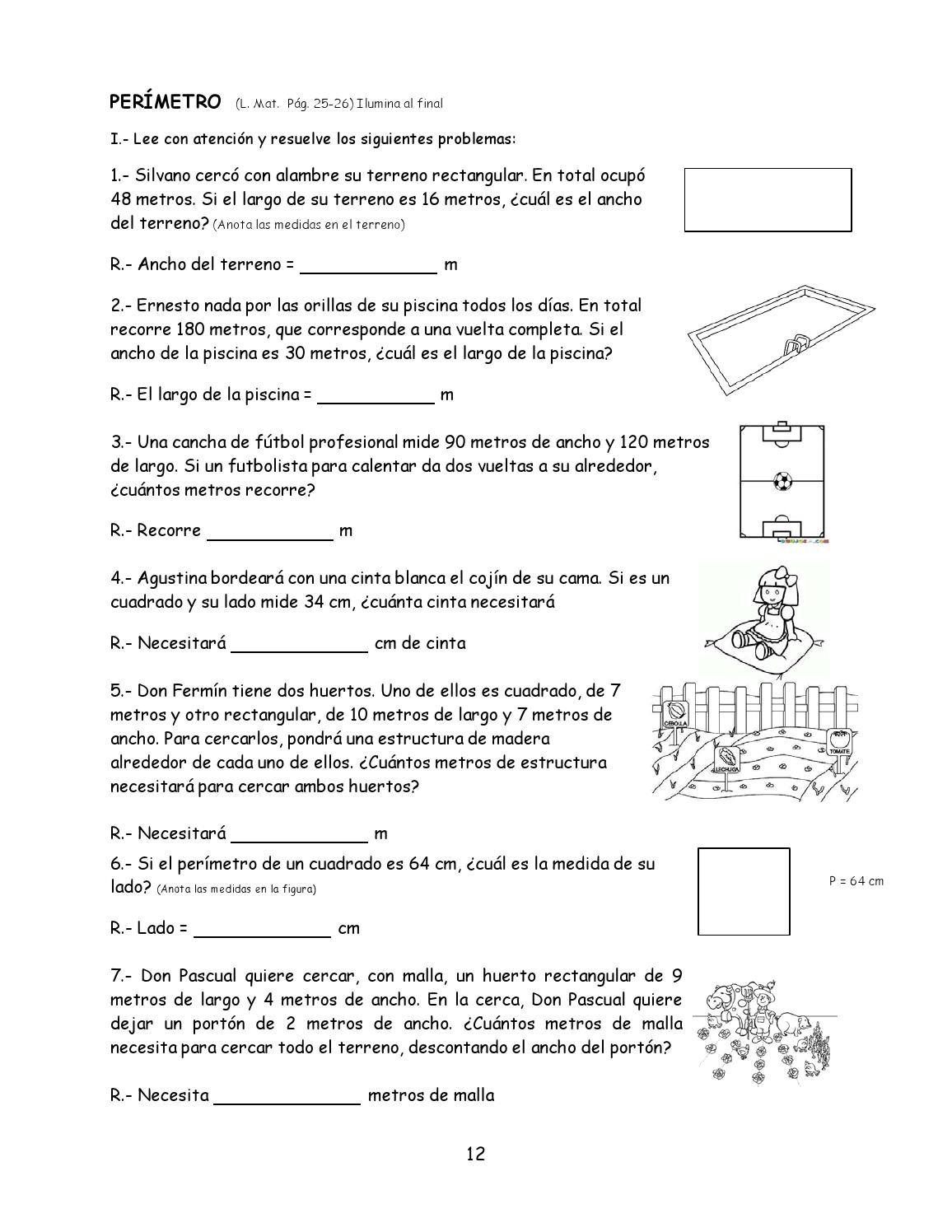 Ejercicios de matem ticas 5 by edukared issuu for Piscinas de 2 metros de ancho