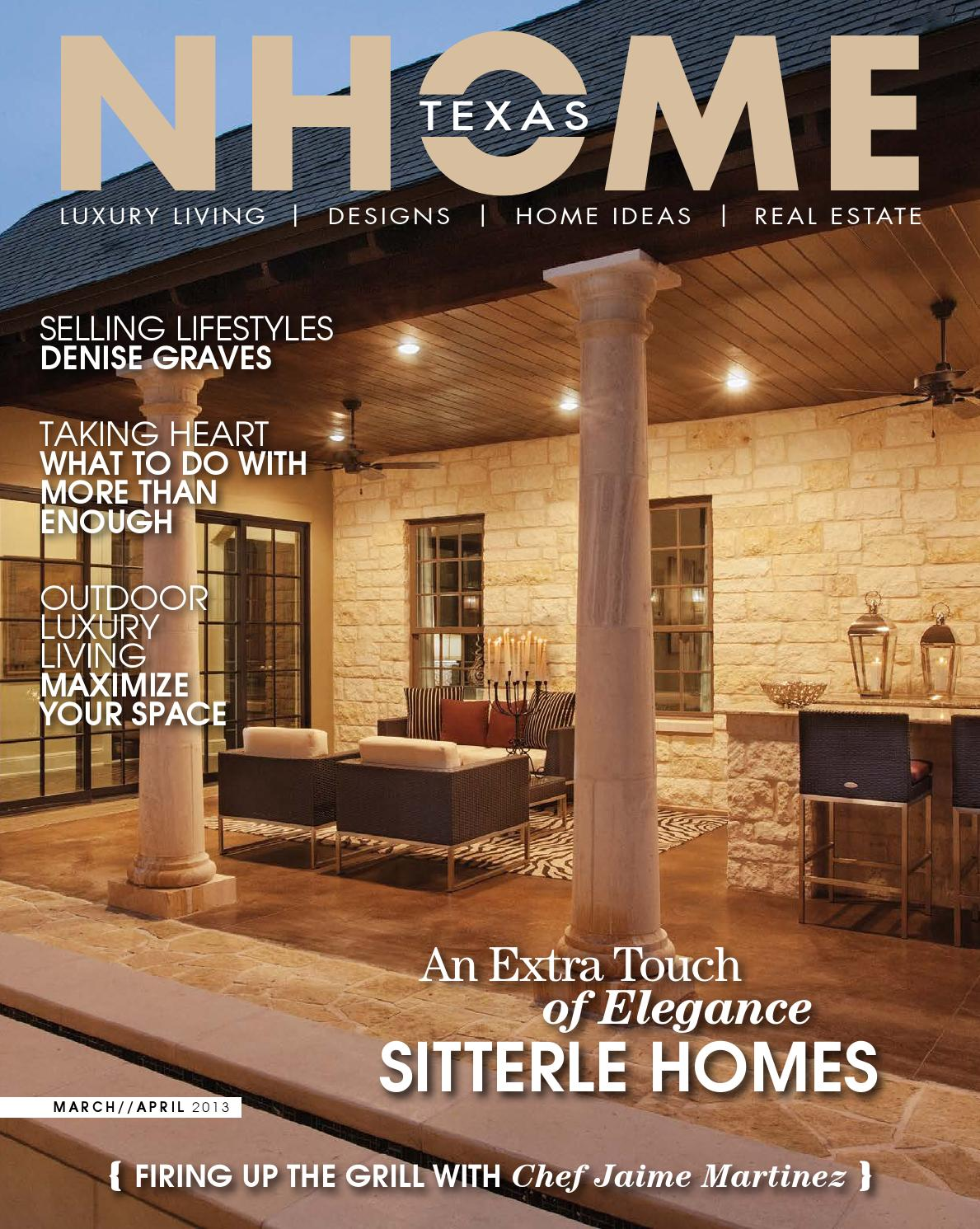 NHOME Texas Magazine Mar/April 2013 by NHOME Texas - issuu