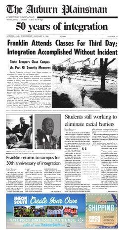 The Auburn Plainsman 012314 Issue By The Auburn Plainsman Issuu