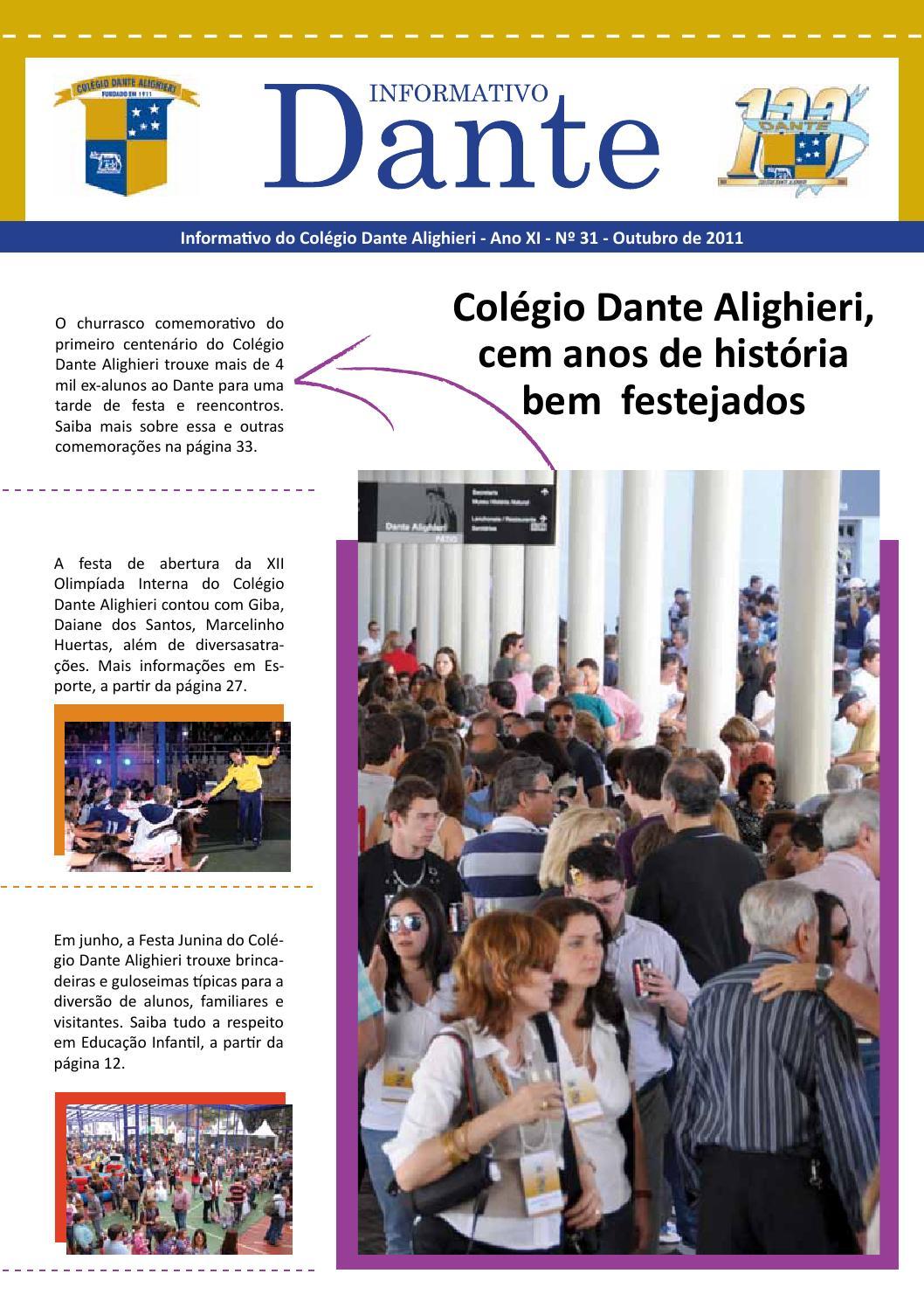 Colégio Dante Alighieri - Informativo n.º 31 by Bruno Gonçalves - issuu 0bce959a4cbf5
