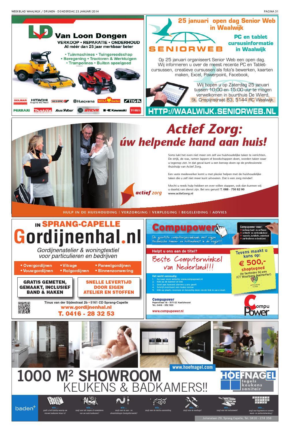 Weekblad Drunen 23 01 2014 By Uitgeverij Em De Jong Issuu