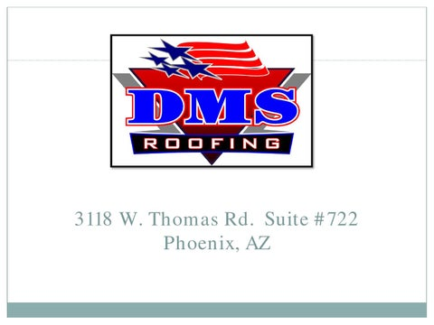 DMS Roofing U2013 Phoenix Residential U0026 Commercial Roofing