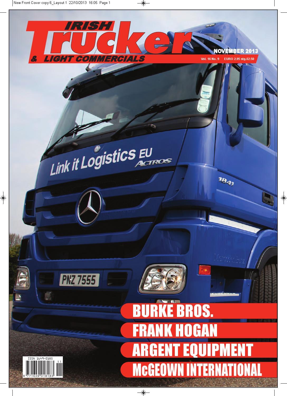 November2013trucker by lynn group media issuu for Burke motor group used cars