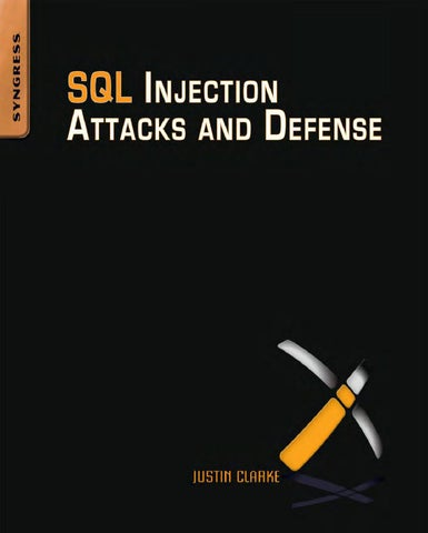 Sql injection attacks and defense by M4st3rm1nd - issuu