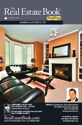 Barrie 23 2 Ebook By The Real Estate Book Of Muskoka And Haliburton ...