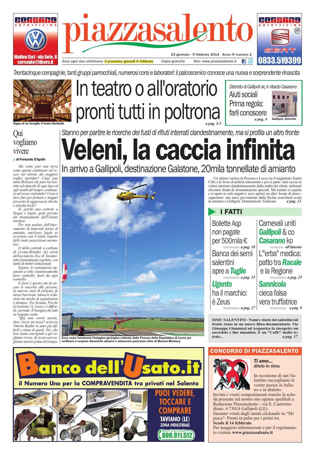 Piazzasalento n2 by Lucio Colavero - issuu 3589a6f53c73