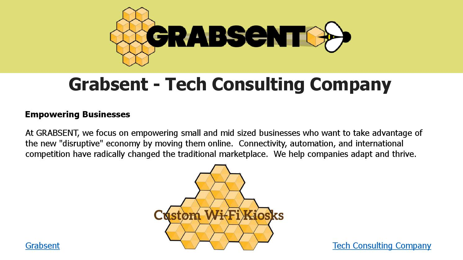 Grabsent tech consulting company by Dylan - issuu