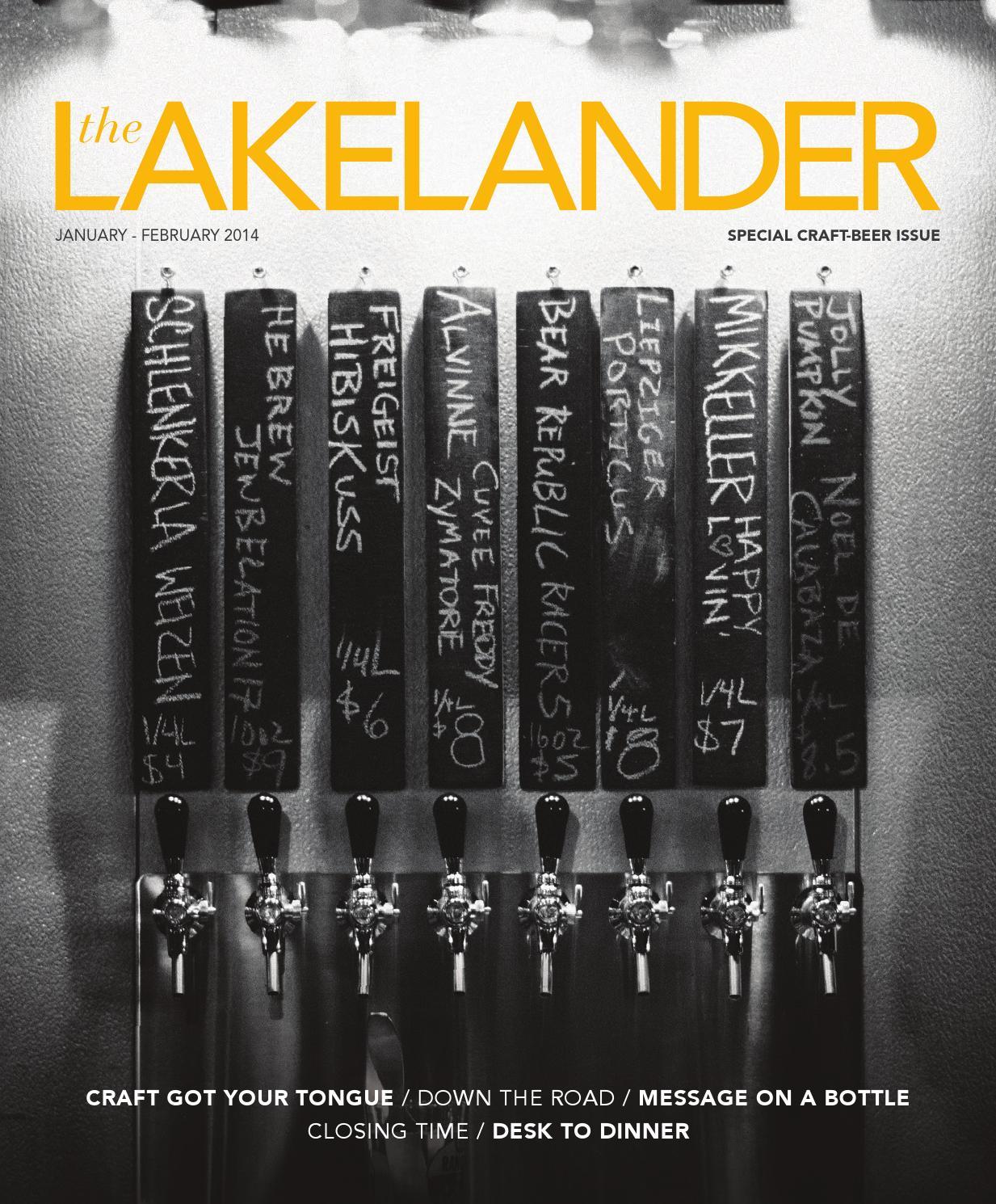 2fca282c39f The Lakelander - SPECIAL CRAFT-BEER ISSUE