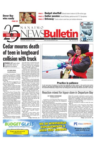 1b752275490 Nanaimo News Bulletin, January 23, 2014 by Black Press Media Group ...