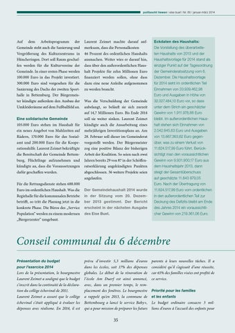 eise buet 85 by Commune de Bettembourg - issuu