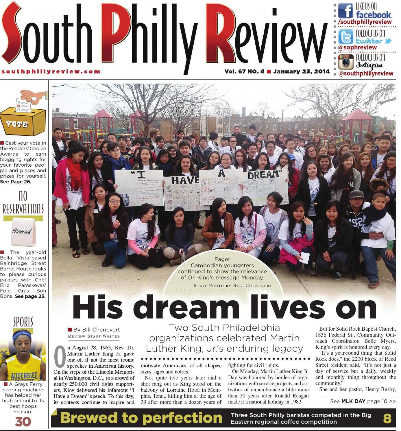 Free Civil Rights Webinar At 3pm 927 >> South Philly Review 1 23 2014 By South Philly Review Issuu