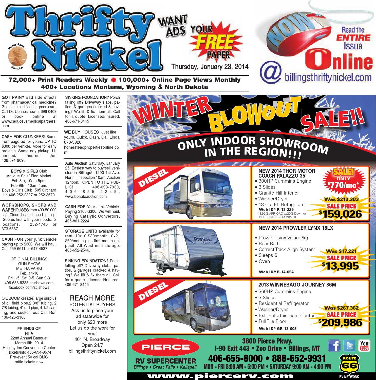 Thrifty Nickel Jan 23 by Billings Gazette issuu