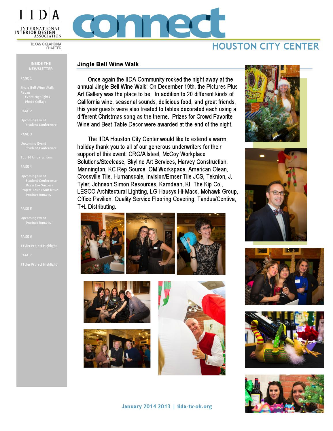 Houston City Center Connect Newsletter January 2014 by ...