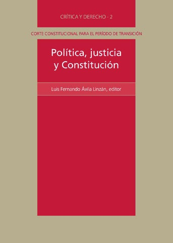 Politica justicia y constitucion by Senker Arevalo - issuu ef59d9a38b9