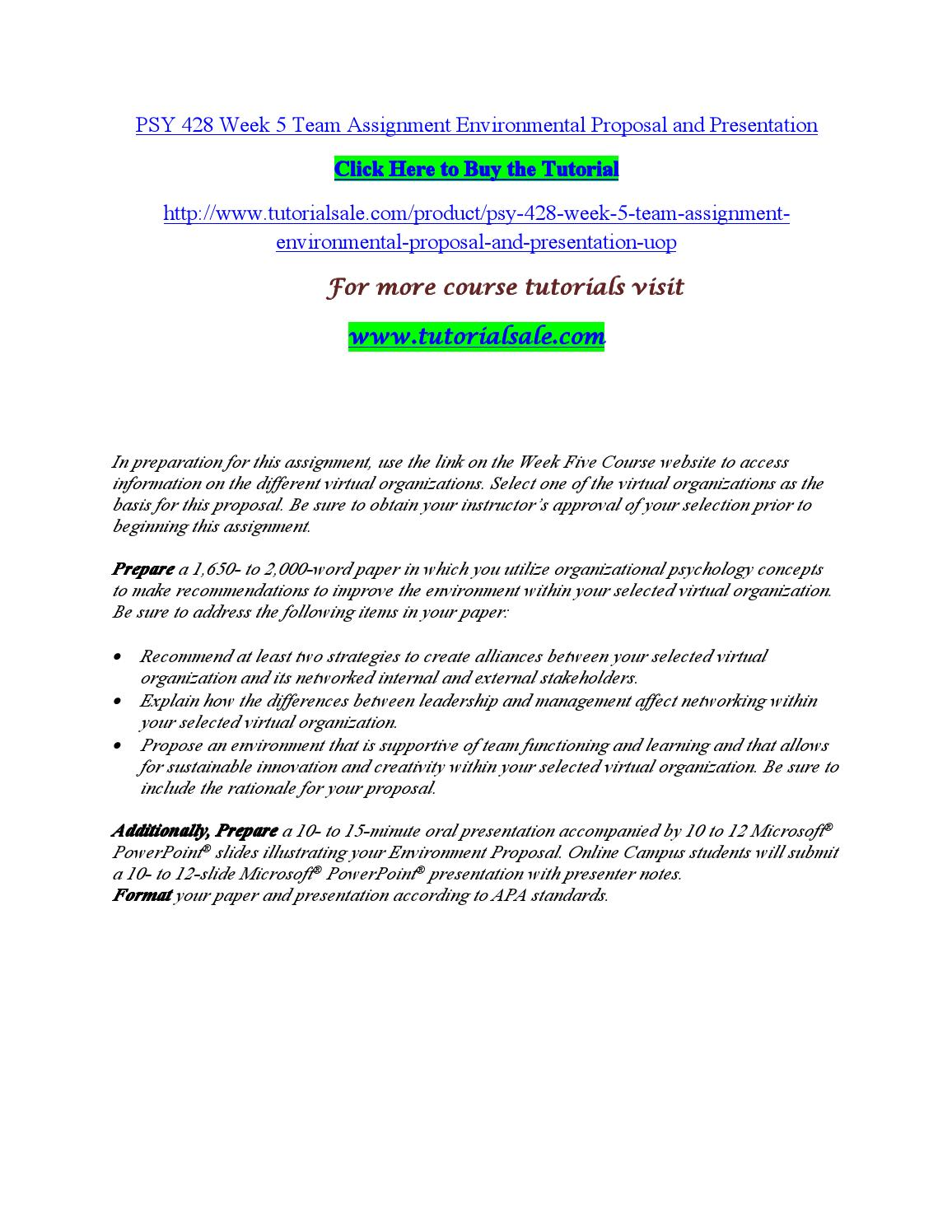 psy 428 week 3 learning team Psy 428 week 3 individual improving organizational performance simulation psy 428 week 3 learning team job satisfaction paper psy 428 week 3 summary.