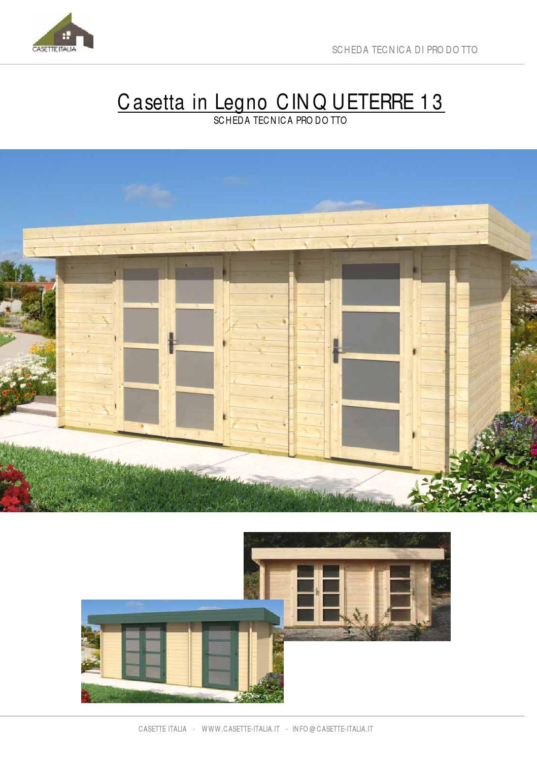 Scheda prodotto casetta cinqueterre 13 by casette legno - Scheda tecnica finestra ...