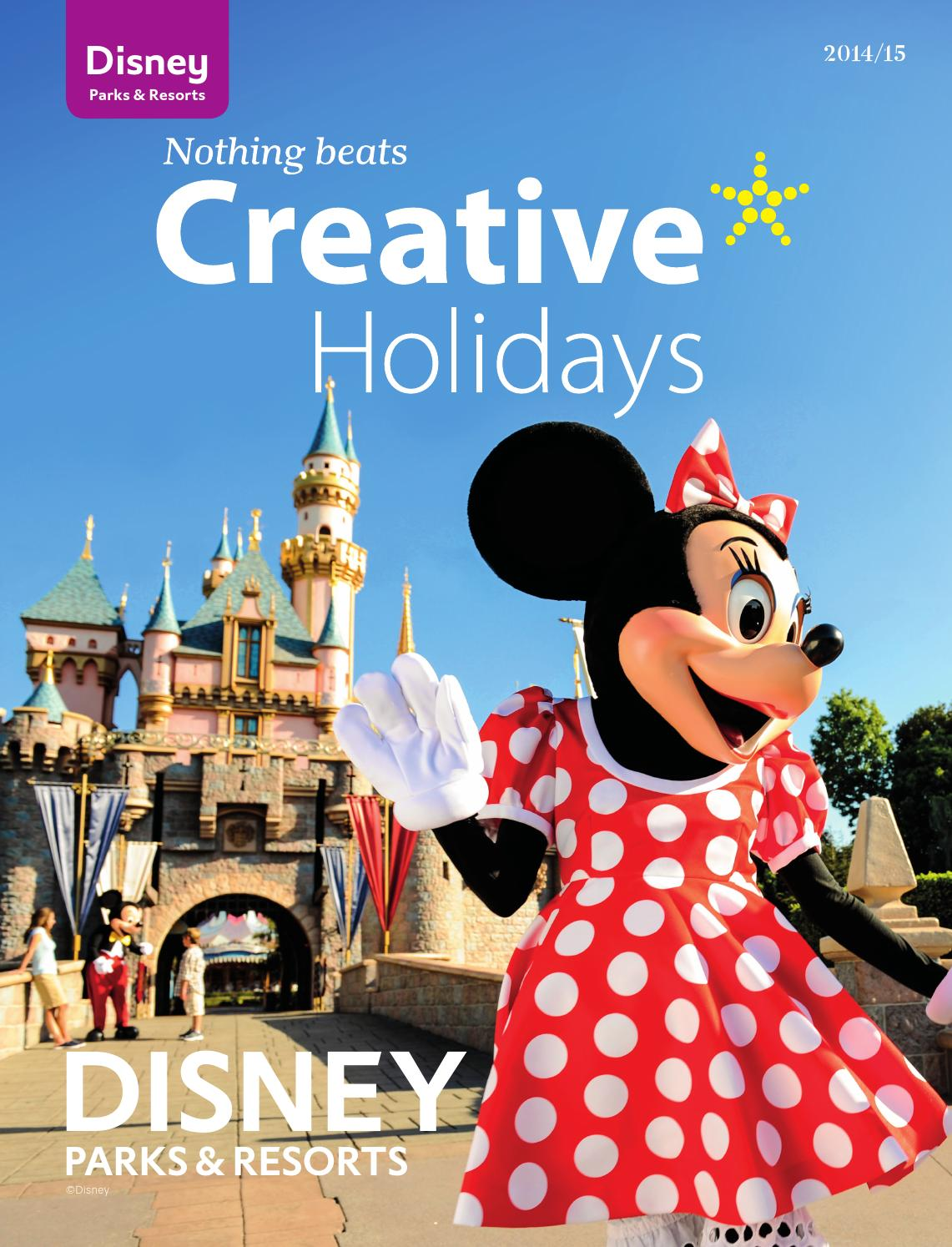 Disney Parks  Resorts 201415 Brochure by Creative