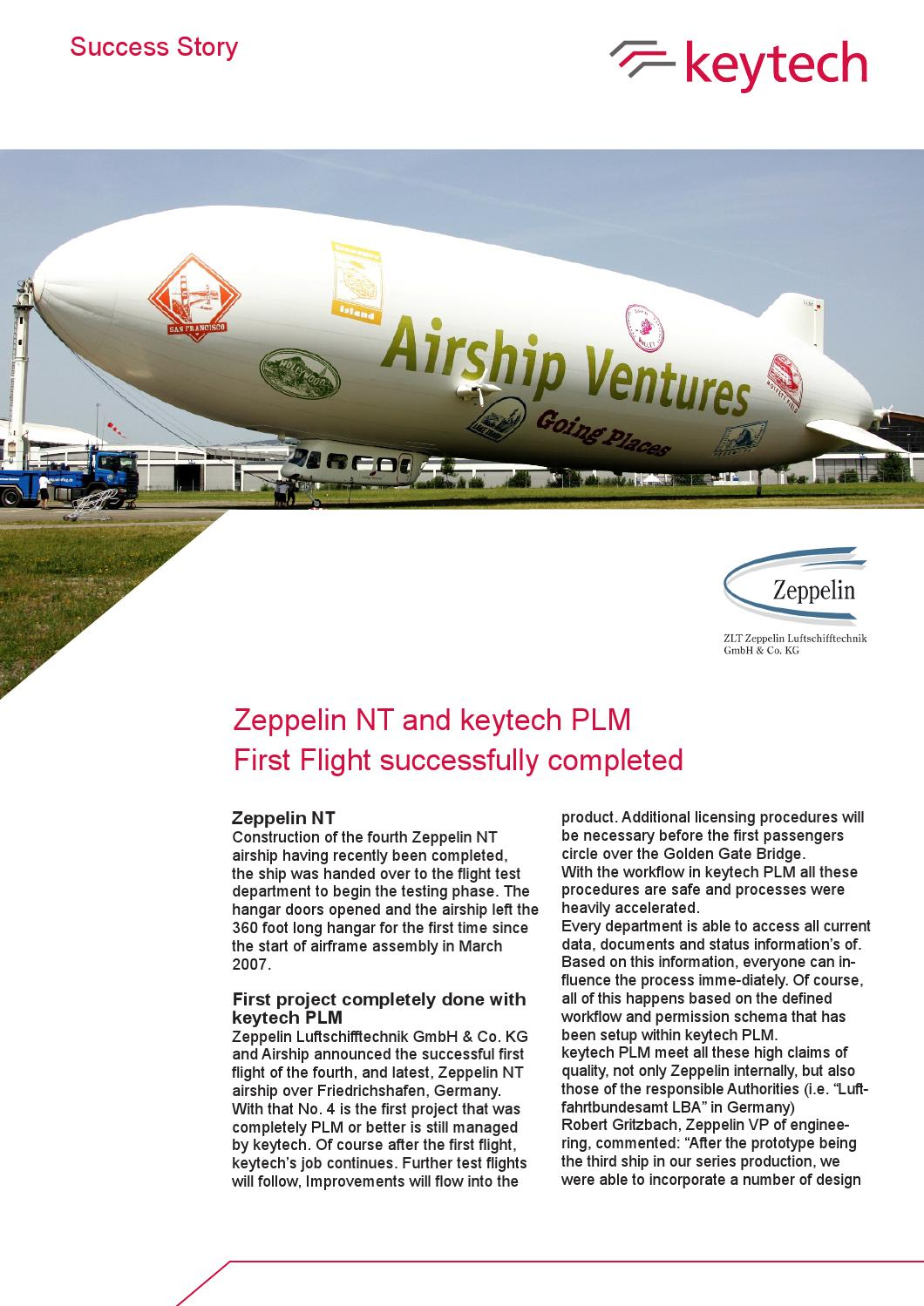 English customer success stories zeppelin