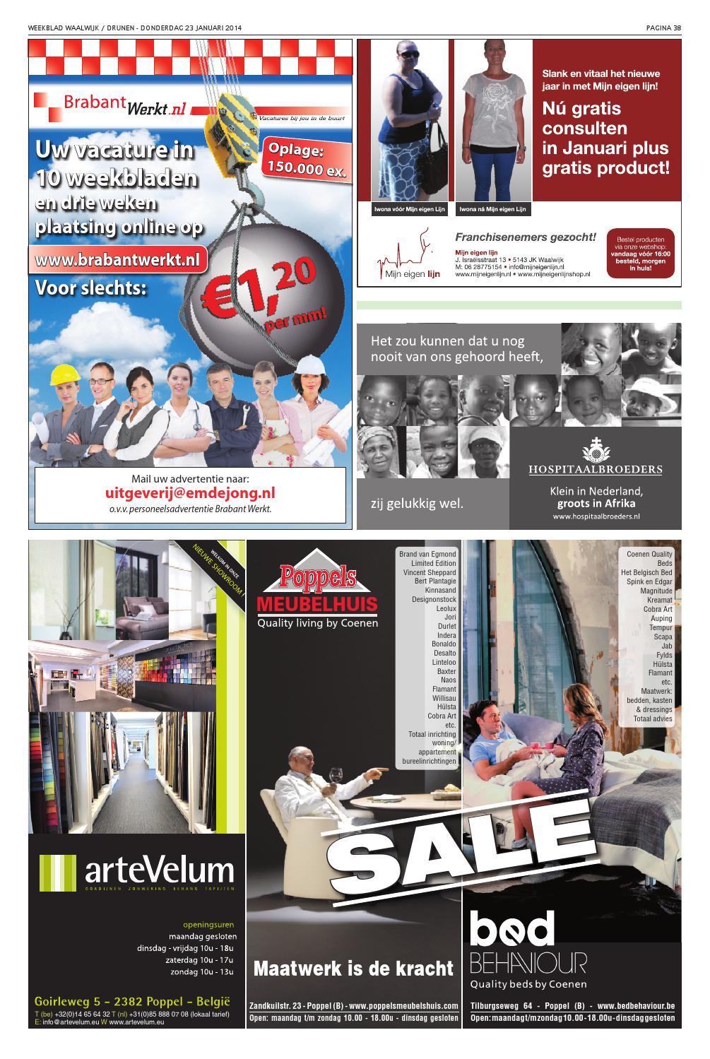 Weekblad Waalwijk 23 01 2014 By Uitgeverij Em De Jong Issuu