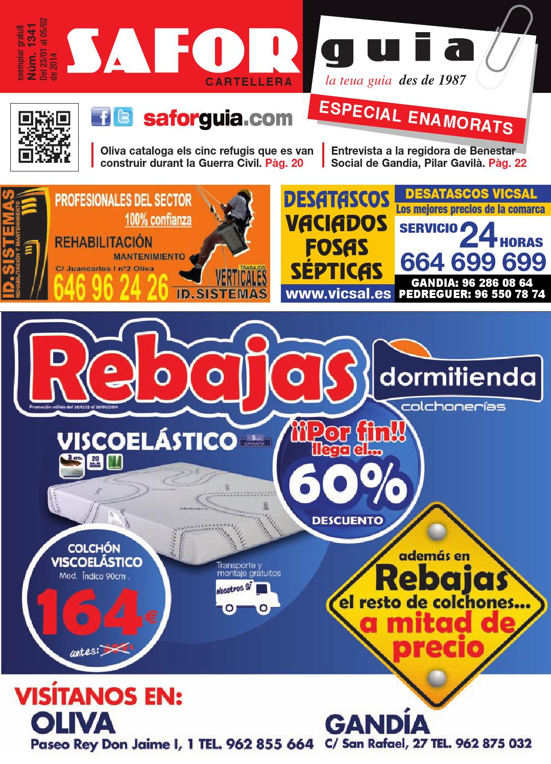Publicaci N Del 23 De Enero Al 5 De Febrero De 2014 By Saforguia  # Muebles Peiro Quart De Poblet
