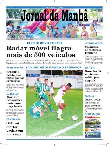 5079d0aec0 7195 diario quinta feira 23 01 2014 by Diário do Vale - issuu