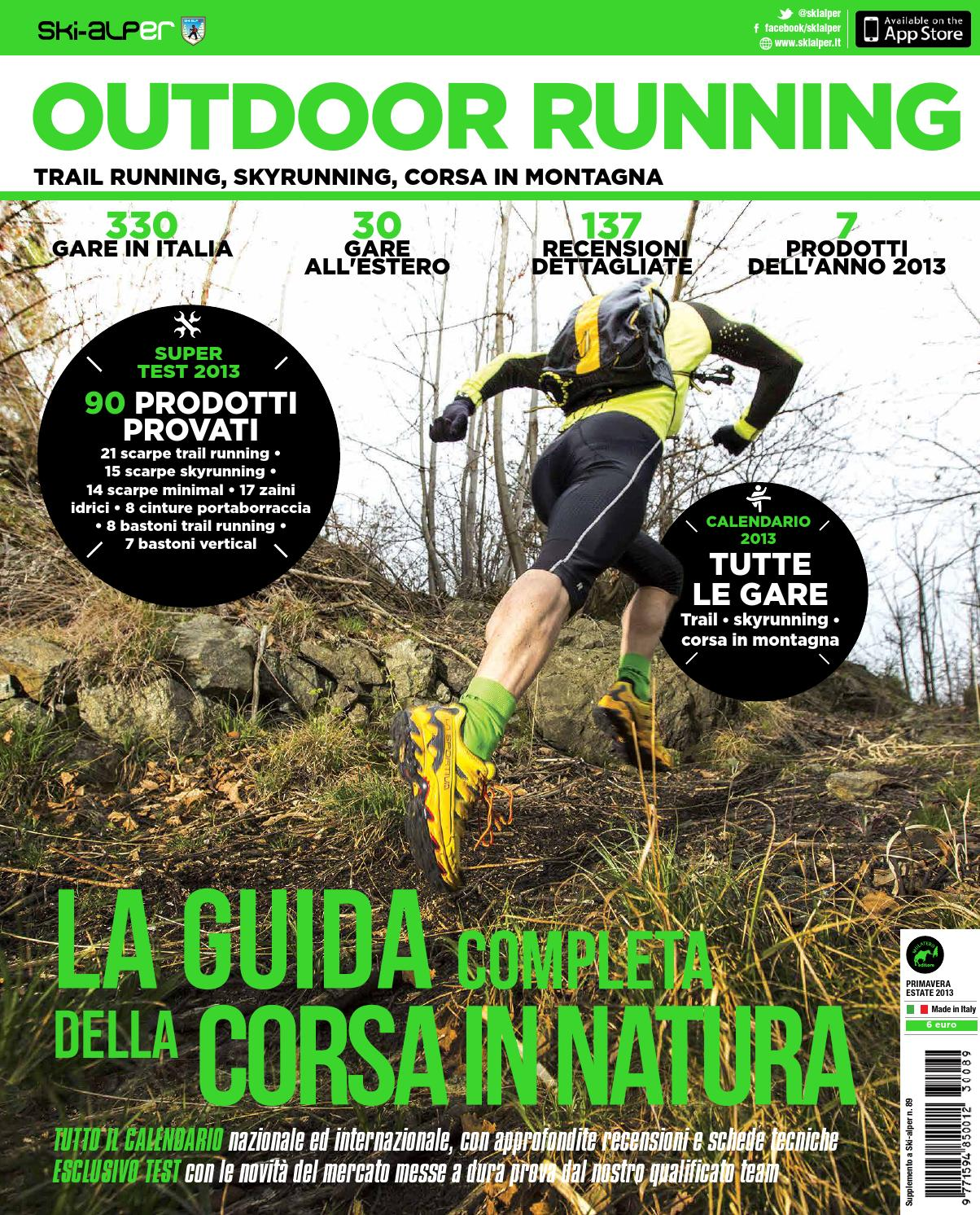 Outdoor Running 2013 by Mulatero Editore - issuu 847ba09fda4b