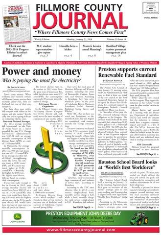 Fillmore County Journal 12714 By Jason Sethre Issuu