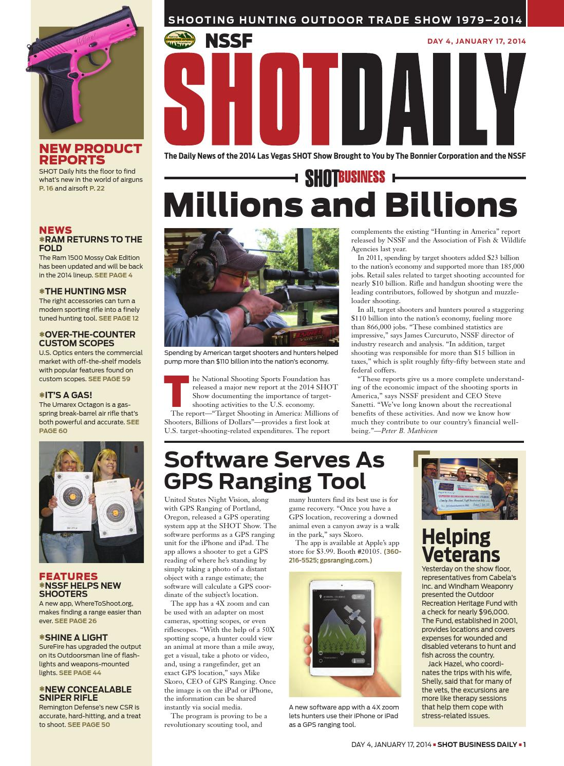 SHOT Daily 4 2014 by SHOT Business - issuu