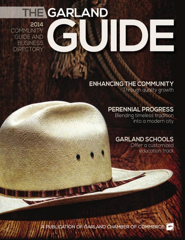 17bc138c125 The Garland Guide 2014 by Garland Chamber of Commerce - issuu