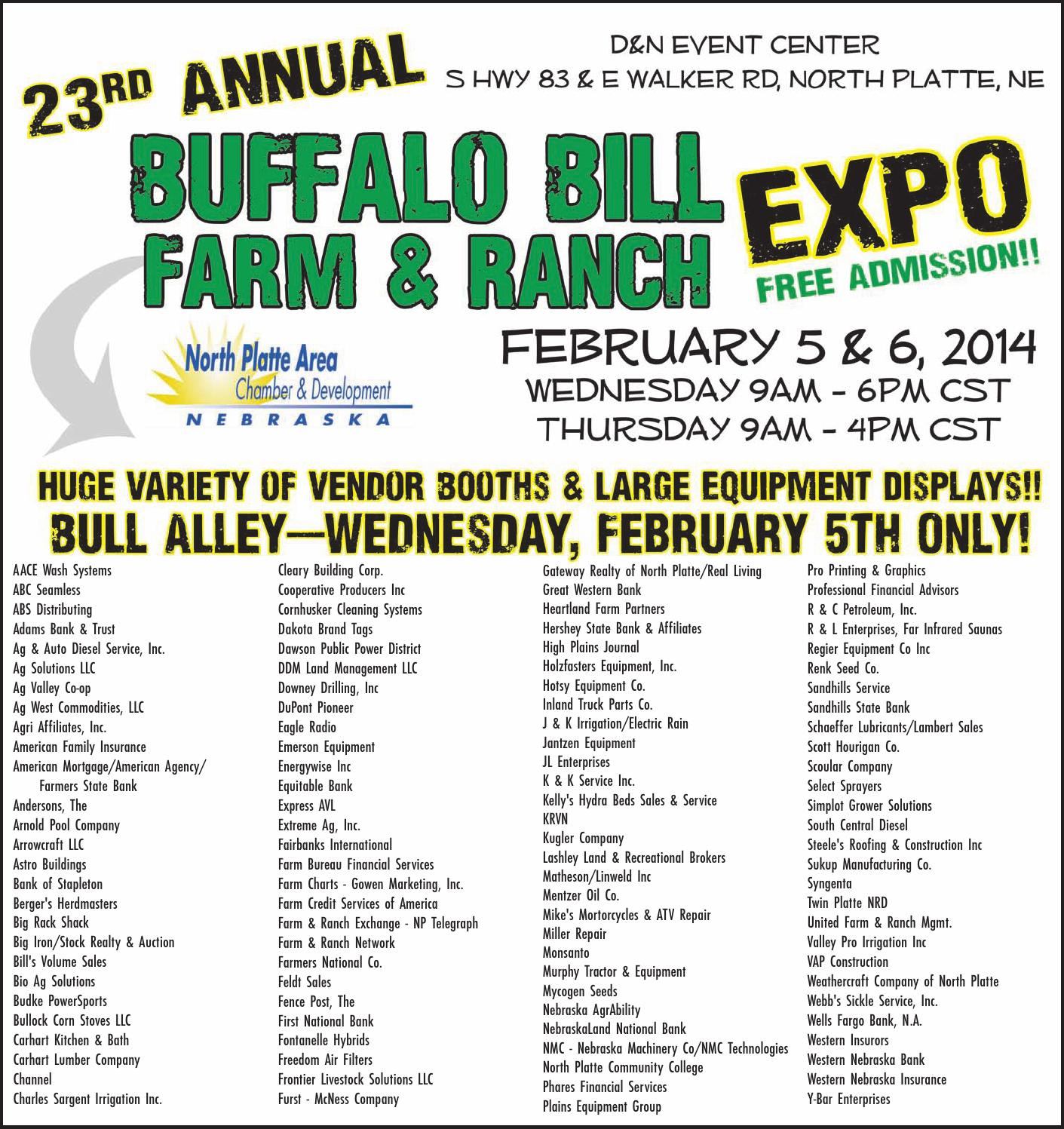 Buffalo Bill Farm Amp Ranch Expo 2014 By Telegraph Webmaster