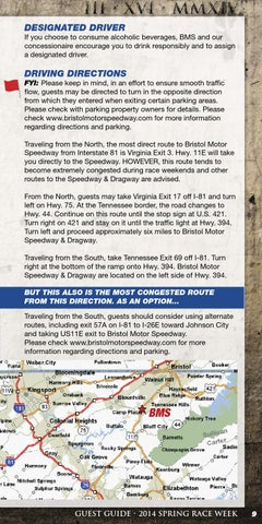 2014 Food City 500 Guest Guide by Bristol Motor Speedway