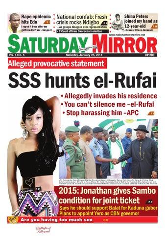Kaduna state governor patrick ibrahim yakowa homosexual advance