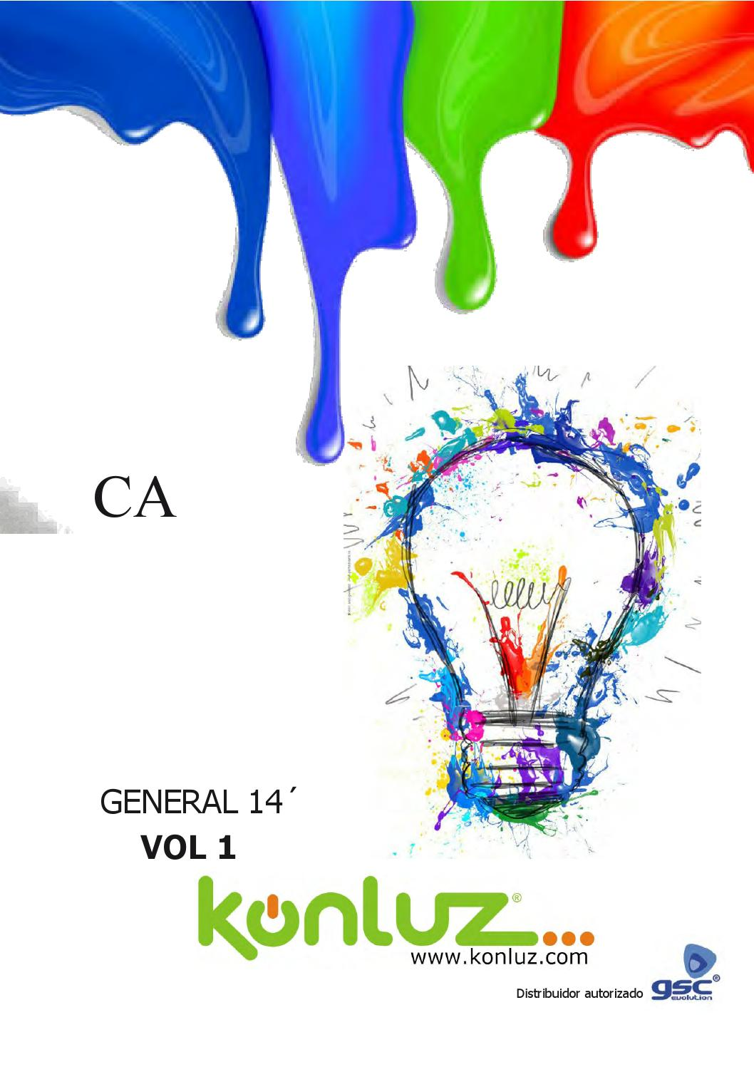 Catalogo General Konluz 2014 Vol 1 By Konluz Import S L Issuu