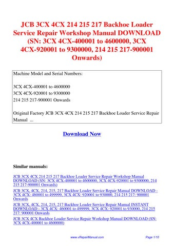 komatsu wb140ps 2n wb150ps 2n backhoe loader workshop service repair manual download a40001 and up a70001 and up