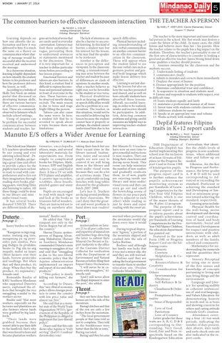 Mindanao Daily Davao (January 27, 2014)