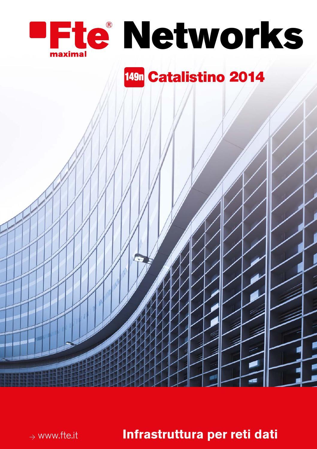 Cablaggio Cat 6 Schema : Catalistino networks fte maximal italia by fte maximal italia issuu
