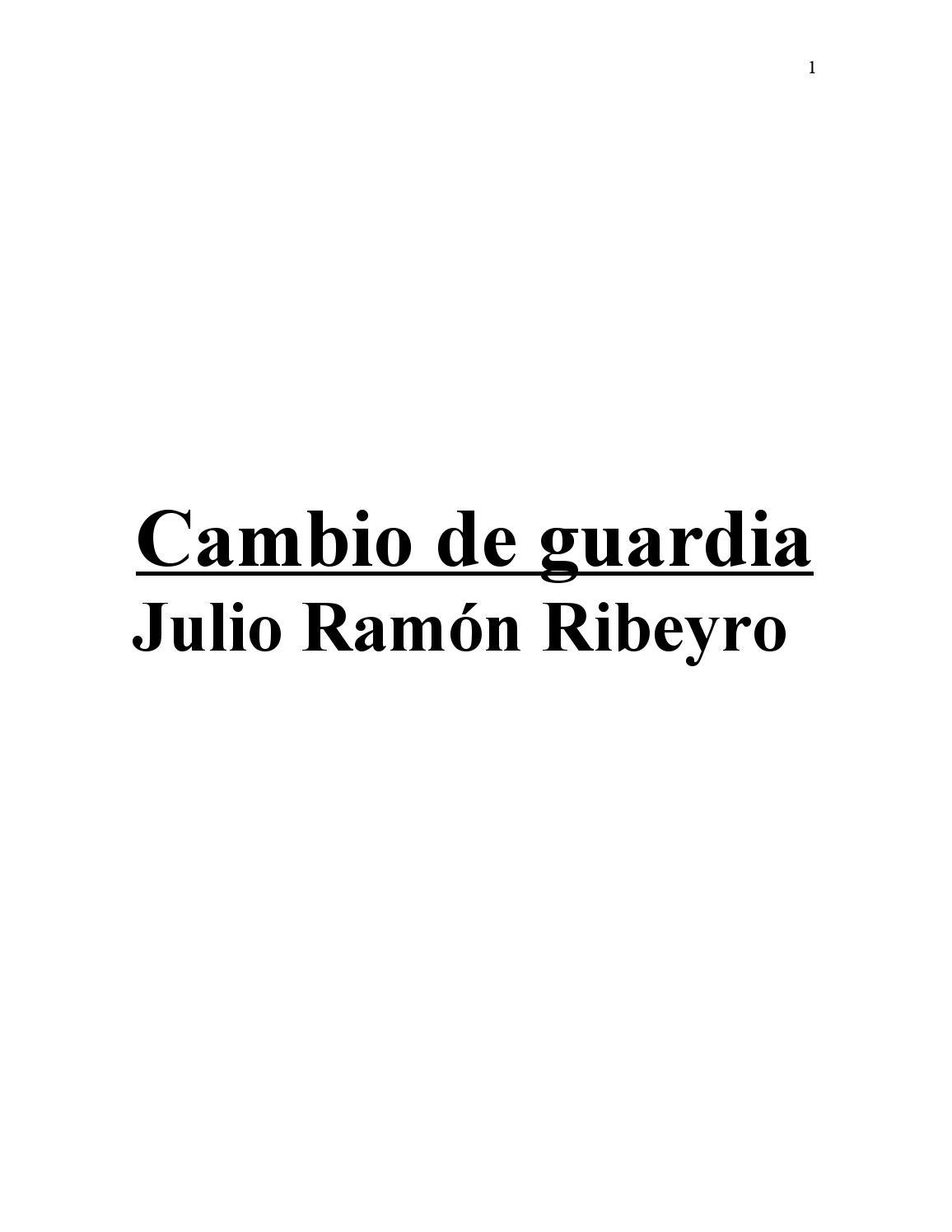 Cambio De Guardia Novela Jrr Versión Intervenida By Jenny