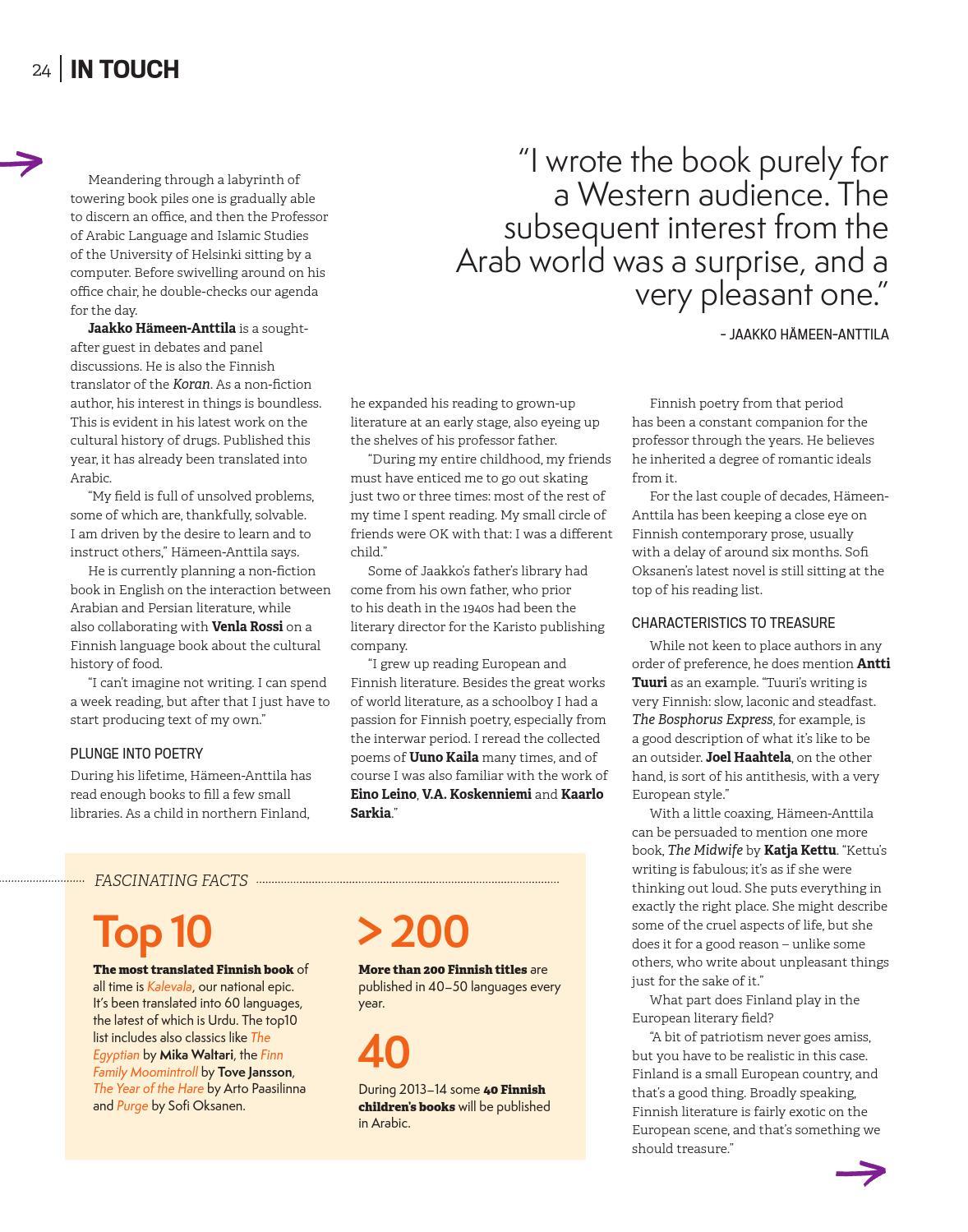 Focus on Finland 2014 English edition by Otavamedia OMA - issuu