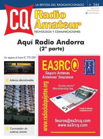 b4a34db77864f CQ Radio Amateur - nº 344 by Versys Ediciones Técnicas