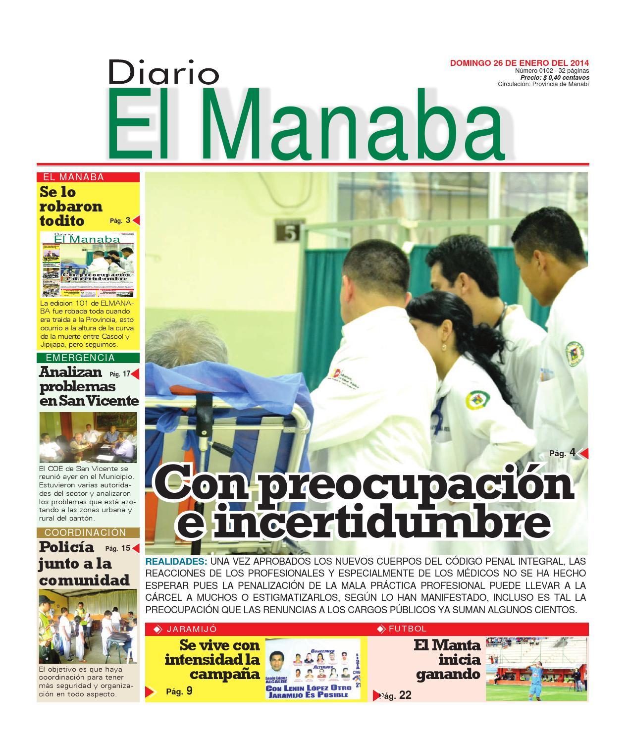 Diario el manaba enero 26 2014 by elmanaba - issuu 757e72c599c