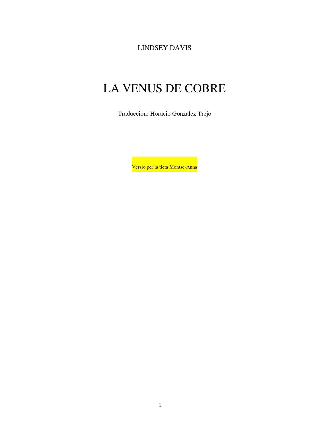 Falco 03 la venus de cobre iii 20120506125118 by Rafa Tarín - issuu