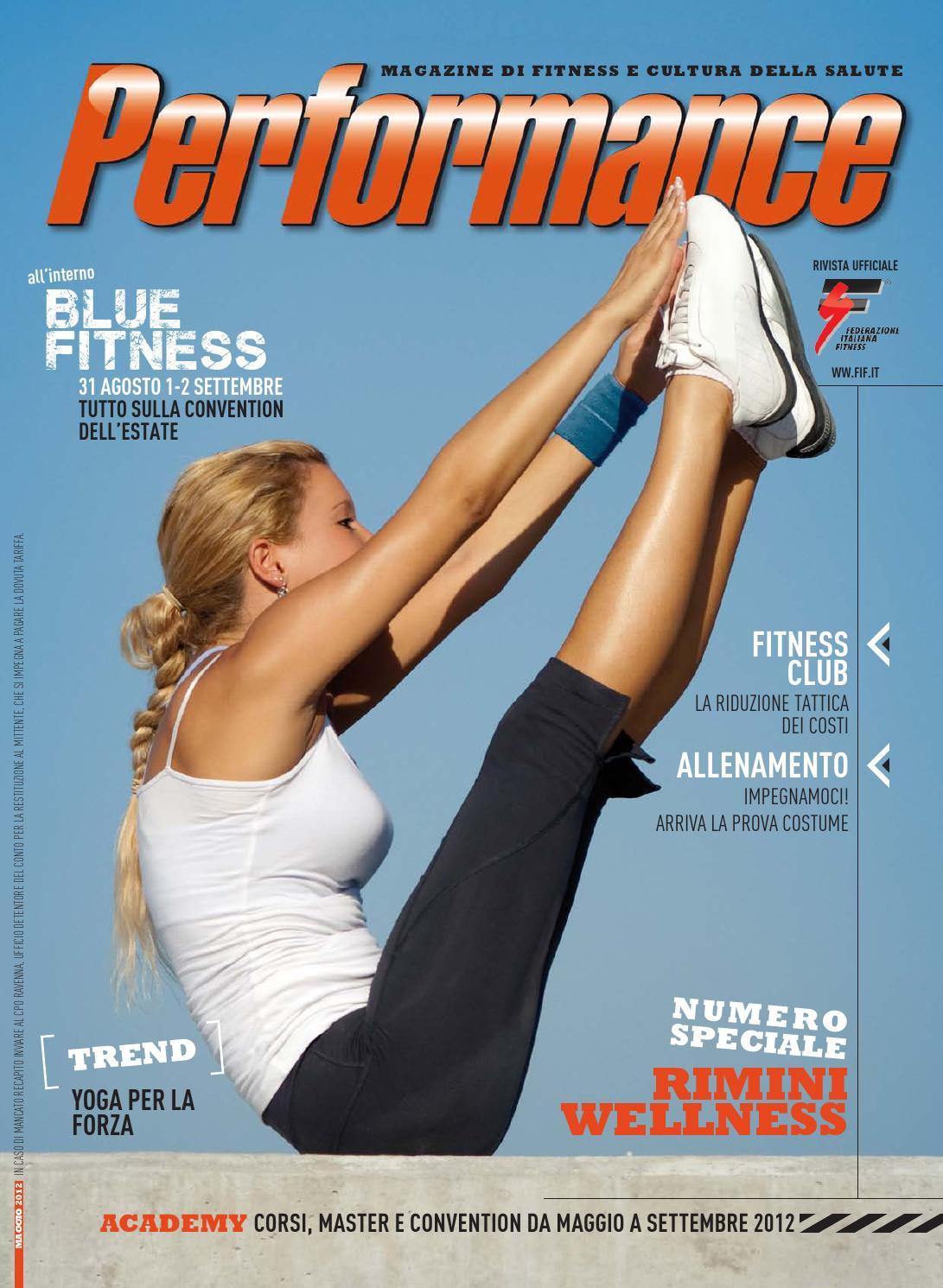 Performance 01 2012 by Federazione Italiana Fitness - issuu 56d88aebe686