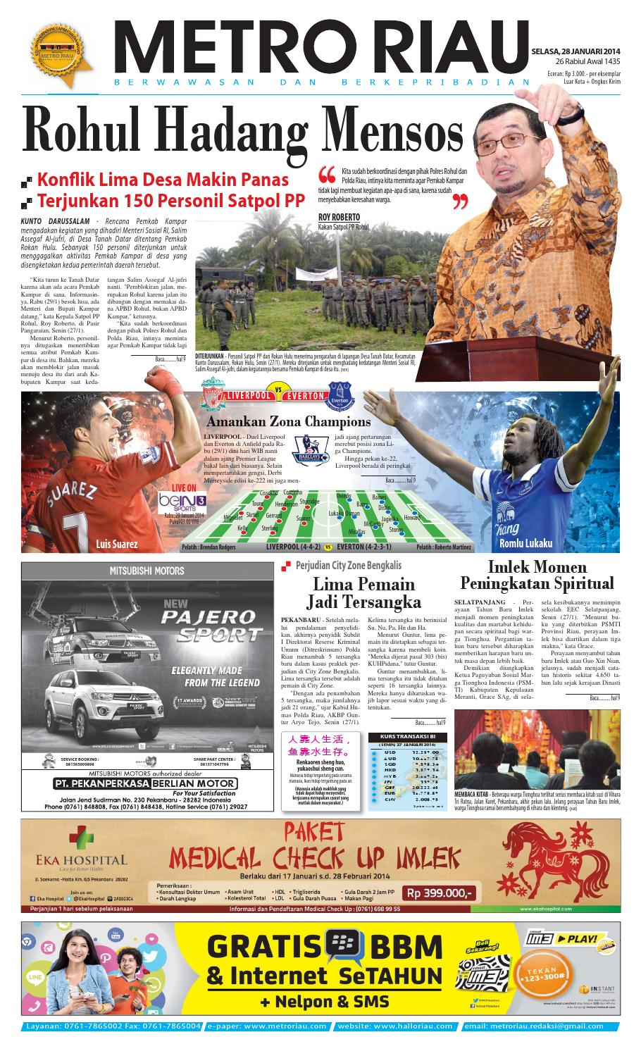 280114 By Harian Pagi Metro Riau Issuu Produk Ukm Bumn Rasa Dewa Sari Buah Mbing 250ml Jus Free Ongkir Depok Ampamp Jakarta