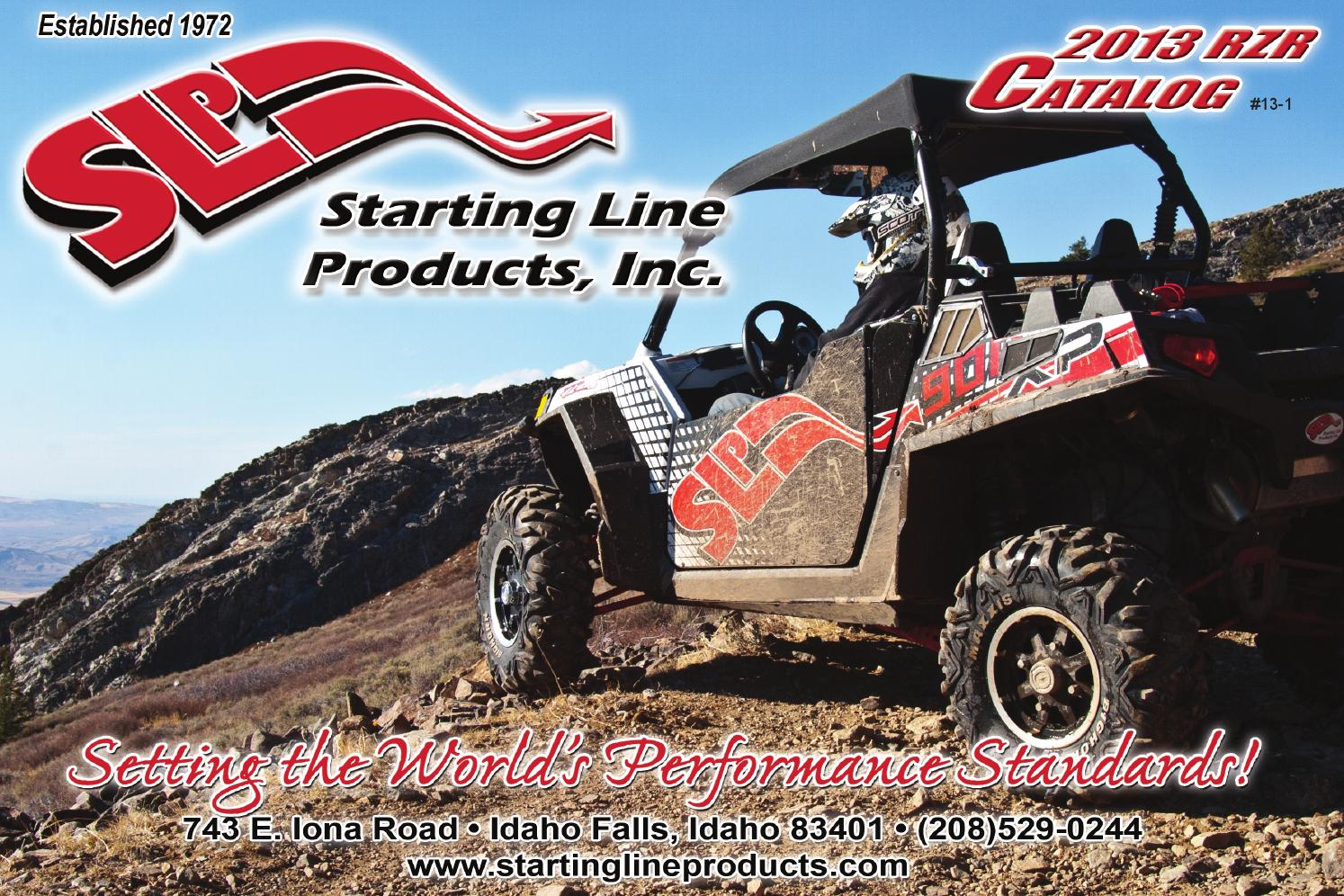 Staring Line Products Front Skid Plate 67-130
