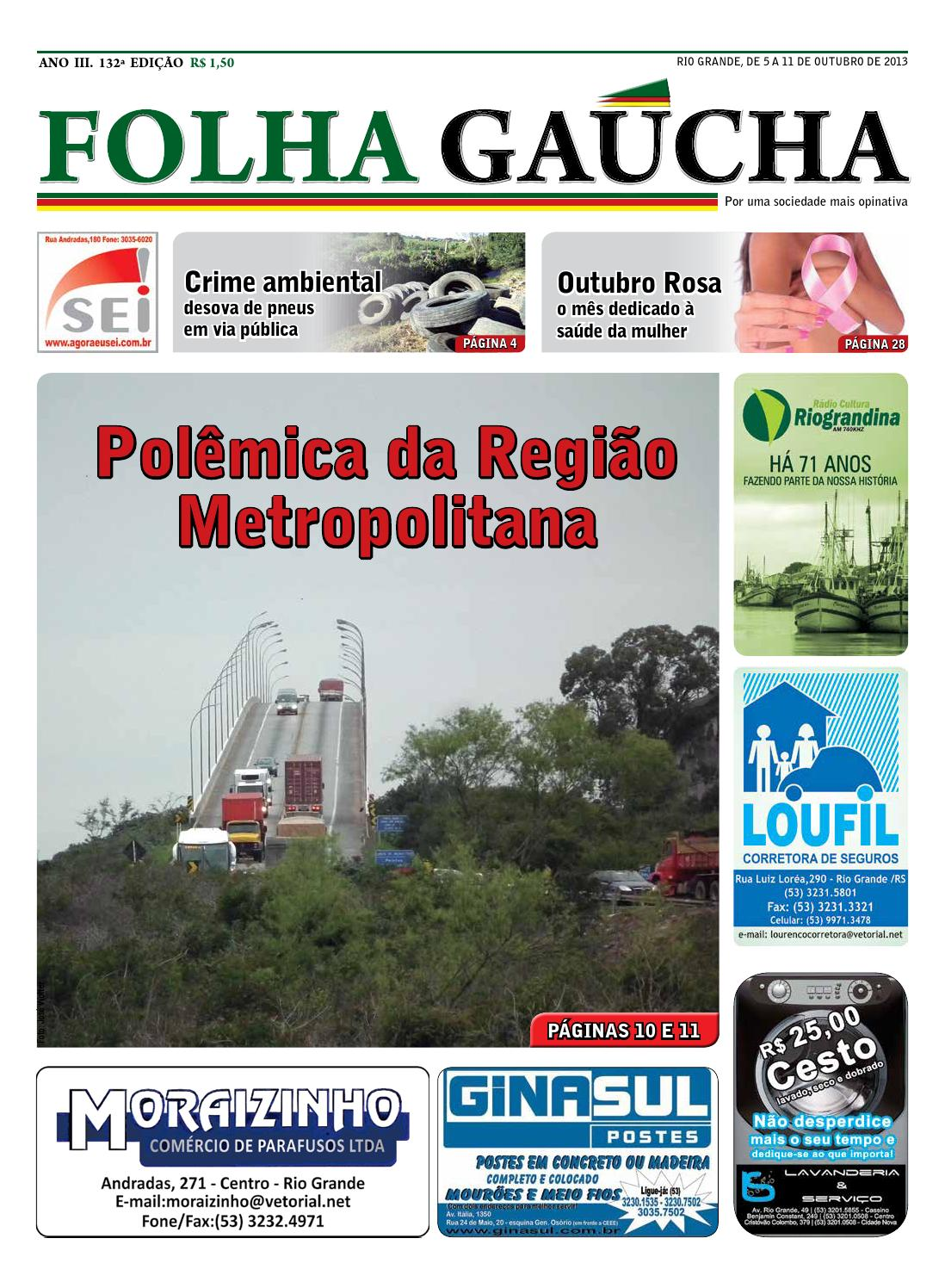 83ce3ed92 Folha gaúcha ed 132 by Folha Gaúcha - issuu