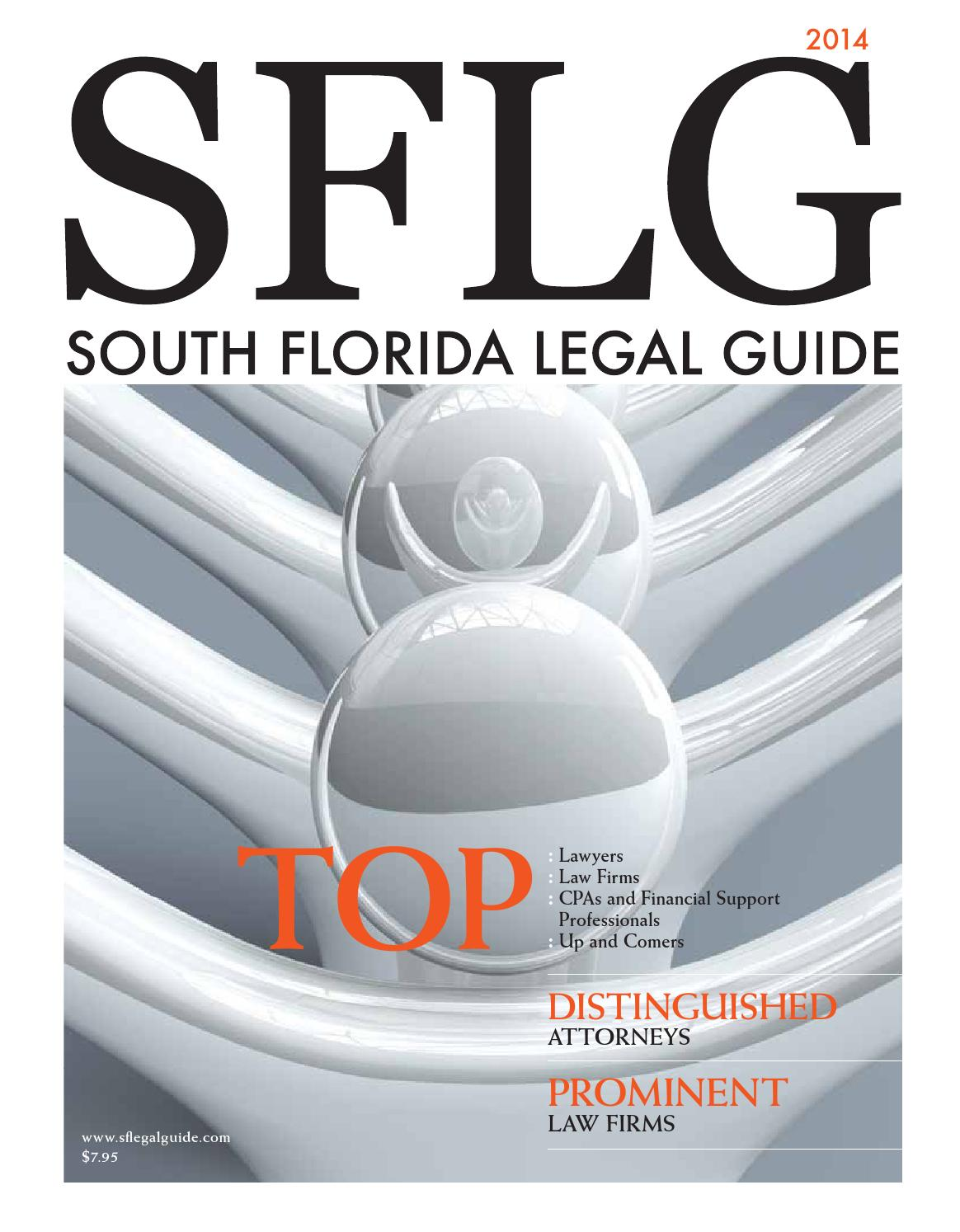 South Florida Legal Guide 2014 Edition by South Florida Legal Guide - issuu