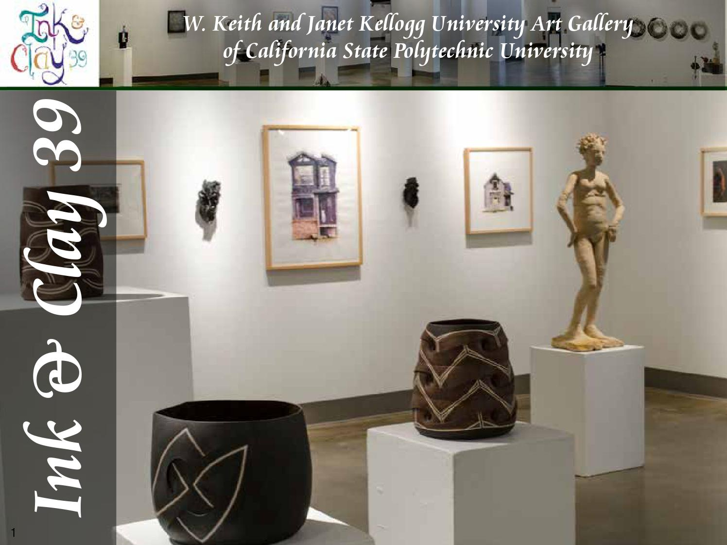 W keith and janet kellogg university art gallery ink for Doris middleman